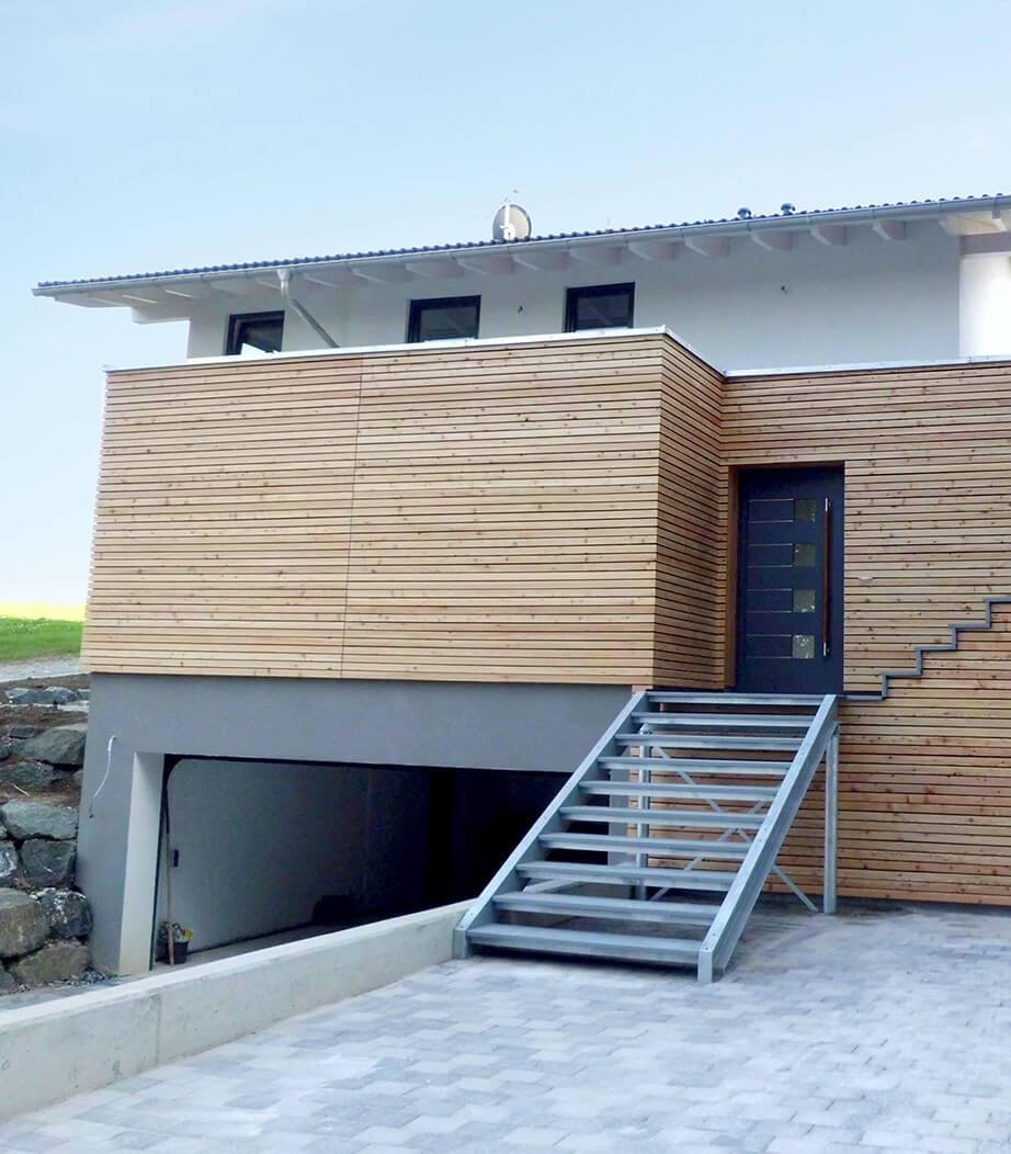 Zimmerei Brenner Allgäu Fassadenverkleidung